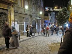 イスタンブールのストリートミュージシャン