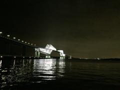 漆黒の東京ゲートブリッジ