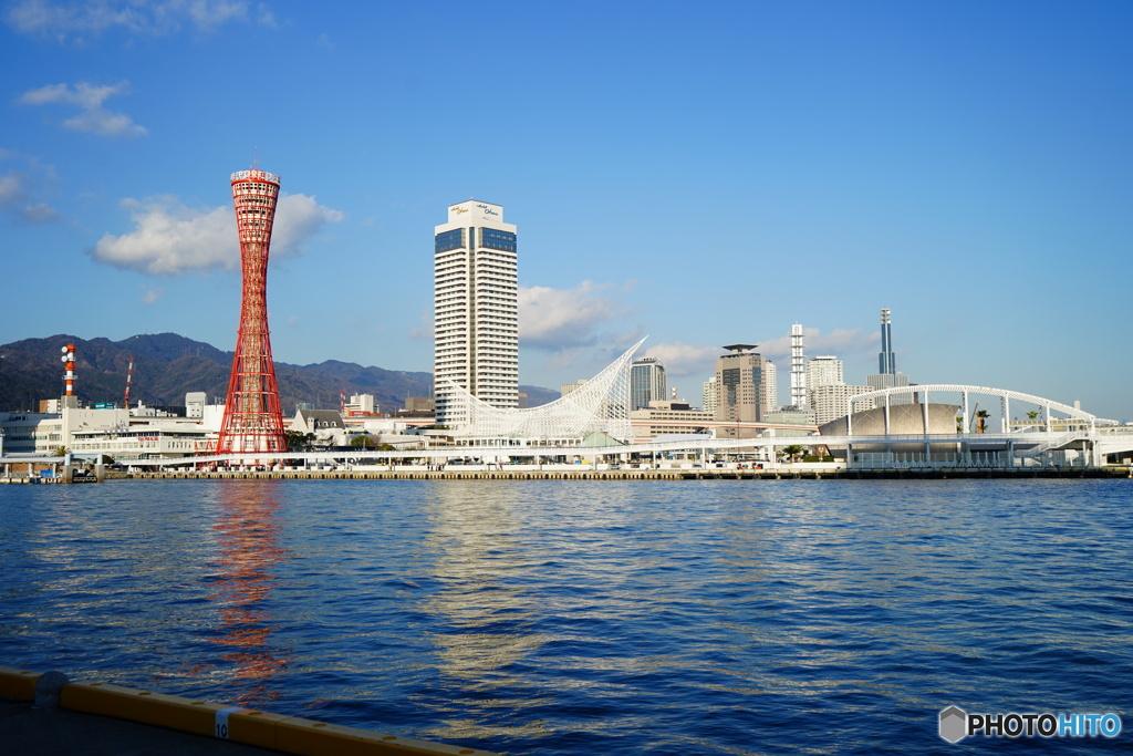 神戸 高浜岸壁から望む 02