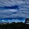 小田原城と空と雲と
