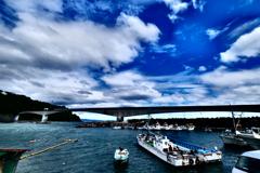 岩大橋岩漁港