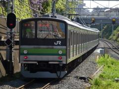 在し日の横浜線205系(横クラ)