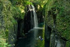 高千穂峡・真名井の滝②