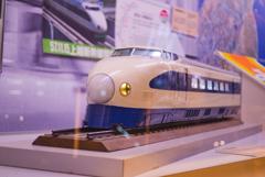 0系新幹線の模型