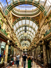 The Victorian arcades of Leeds