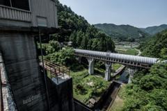 宇賀ダムからの眺望