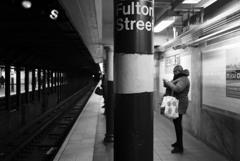 地下鉄百景 Fulton Street