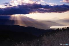 高原の朝2