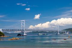 鳴門海峡初夏景色