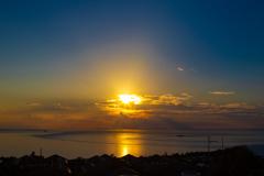 播磨灘の夕景➁