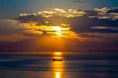 播磨灘の夕景③