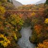 記憶に残る赤い架け橋