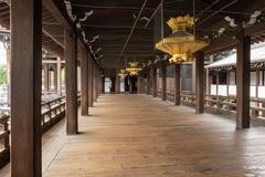 本願寺(西本願寺)うぐいす張り廊下