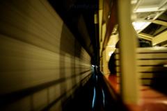 トンネルに!!
