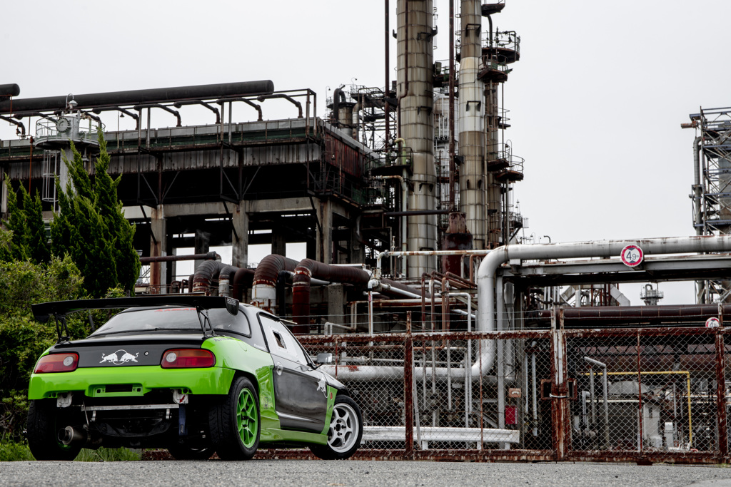 mistbahn Honda BEAT 高石工業地帯 1