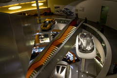 [Mercedes 2252] メルセデス博物館 館内風景