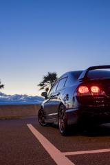FD2 Civic Type R × りんくう常滑ビーチ   2