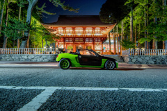 Honda BEAT × 高野山金剛峯寺 | 01