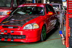 EK9 Honda CIVIC Type R at ASLAN | 2