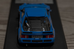 hpi MIRAGE 1/43 Ford RS200 Blue | 06