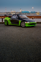 Honda BEAT mistbahn at 築港 | 17