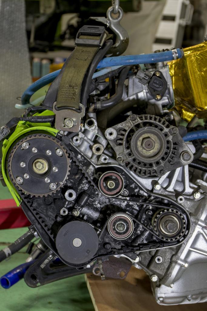 Honda Beat E07A改R2_0 タイベル・プーリ関連 | 2