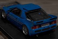 hpi MIRAGE 1/43 Ford RS200 Blue | 05