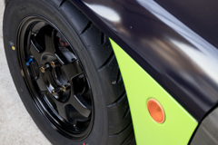 Honda Beat mistbahn号 自家塗装TE37 1