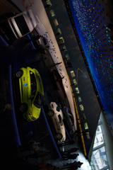 [Mercedes 220] メルセデス博物館 館内風景