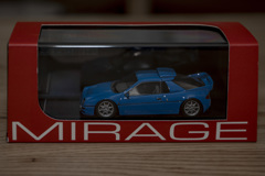 hpi MIRAGE 1/43 Ford RS200 Blue | 01