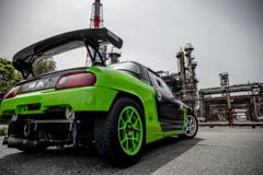 mistbahn Honda BEAT 高石工業地帯 3