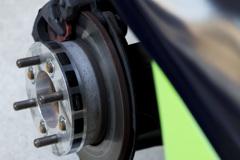 Honda Beat mistbahn号 20mm ワイトレスペーサー 1