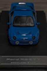 hpi MIRAGE 1/43 Ford RS200 Blue | 03