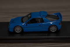 hpi MIRAGE 1/43 Ford RS200 Blue | 02