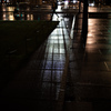 ライトの影