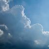 夏雲の勢い。