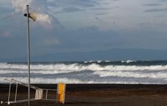 台風接近中!