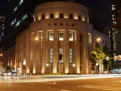 Retro Osaka   大阪証券取引所