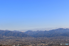 大空と山と盆地
