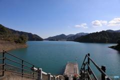 宮ヶ瀬湖 11月2日7