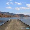 野尻湖の秋