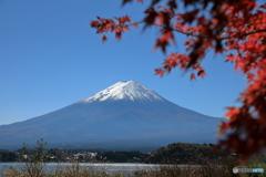富士山と河口湖74