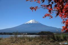 富士山と河口湖70