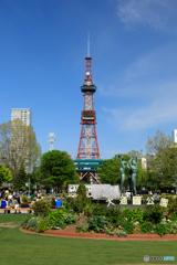春の大通公園