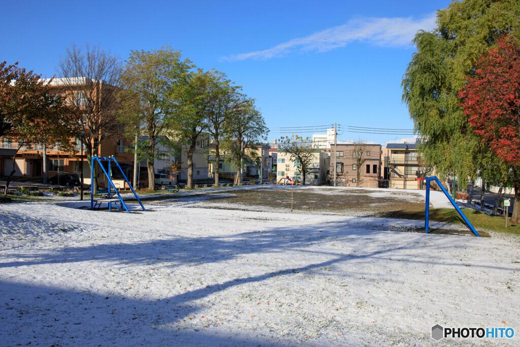 雪の季節が始まりました