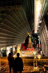 クリスマスツリー  京都駅...