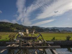 四ヶ村溝の水車