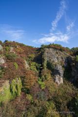 寒霞渓の秋