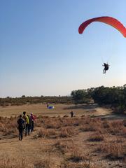 Hiking vs Paragliding
