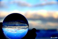 ガラス越しの地球